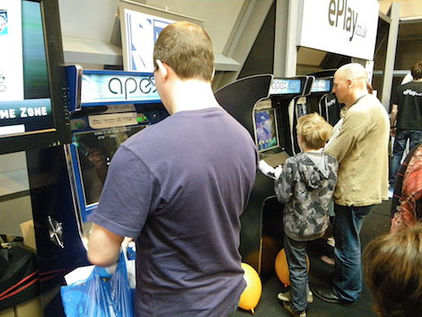 Apex Arcade Machines Gadget Show 2010