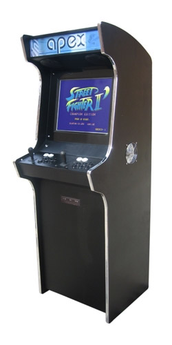 apex upright arcade machine