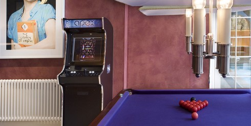 apex arcade machine with pool table
