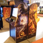 Mortal Kombat 9 machines on display