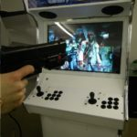 House of the Dead 3 with lightgun on Evo Elite arcade machine in white