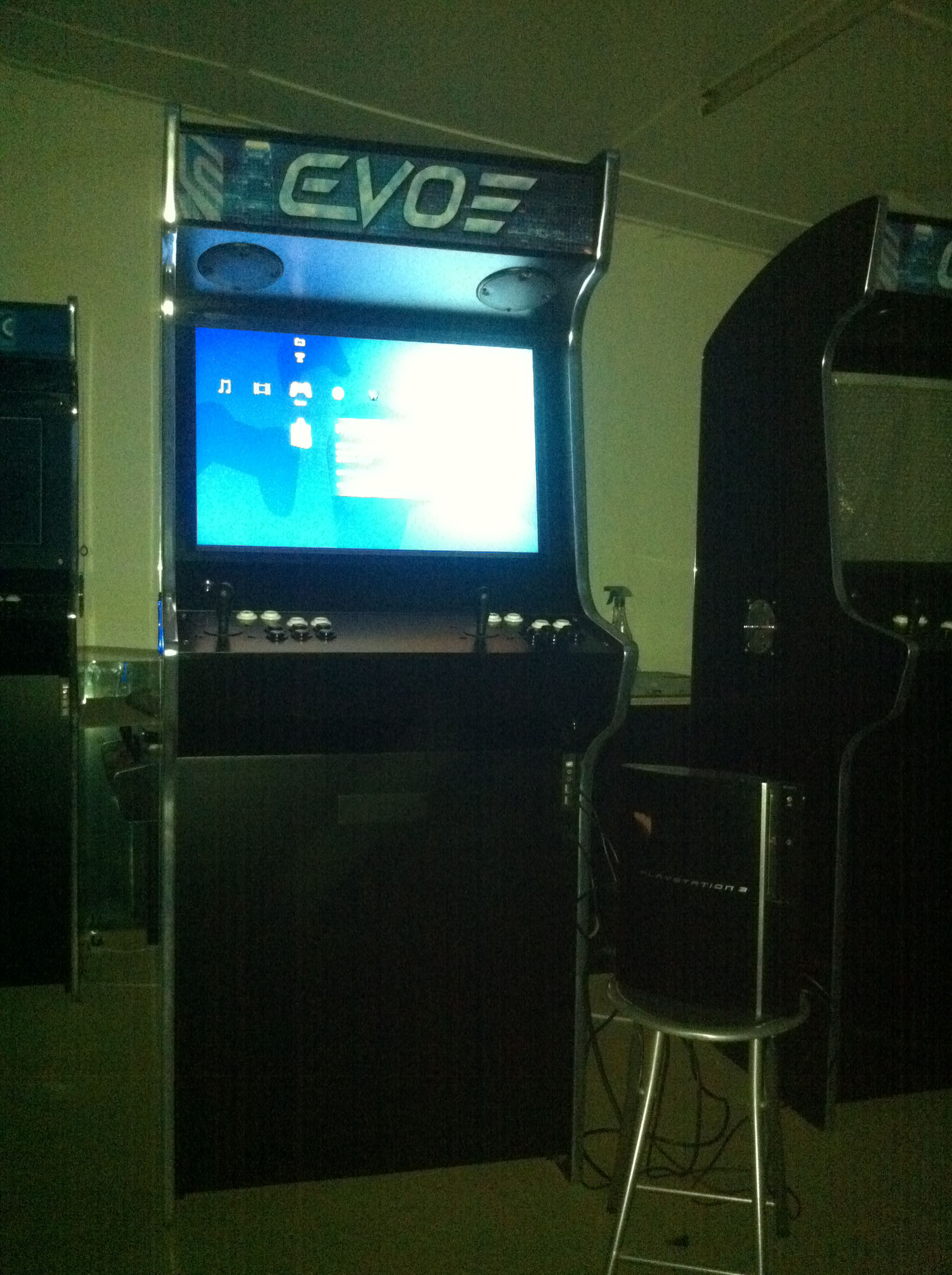 PS3 Compatible Arcade Machine in Action - Bespoke Arcades