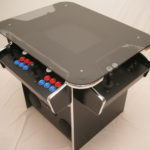 synergy arcade cabinet with smoked glass