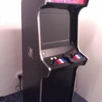 Ben's apex with colour buttons and red marquee