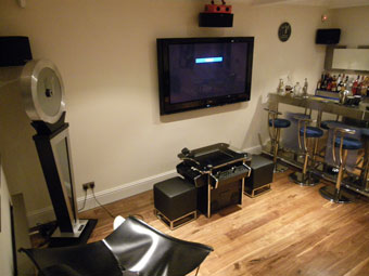 synergy elite in games room