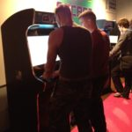 Street Fighter on the Evo Arcade