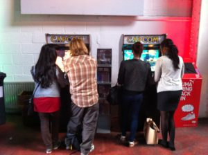 Bespoke Arcade Machines at Capcom Event