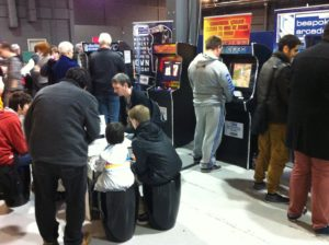 Bespoke Arcade Machines at Play Expo