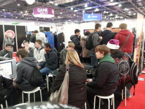 Gadget Show Live Packed Arcades Area