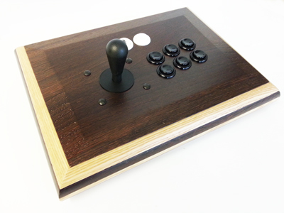 real wood arcade joystick