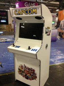 Good Capcom Are Also Having A Competition Whereby They Will Be Giving Away The  Bespoke Arcades Capcom Arcade Cabinet To Two Lucky Winners!