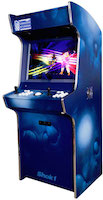 Evo Arcade Machine - Shok1 Hand Painted 2