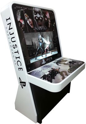 injustice gods among us arcade machine