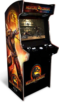 Mortal Kombat 9 Arcade Machine