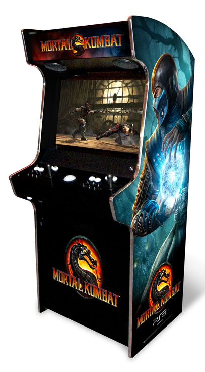 Evo stand up arcade cabinet bespoke arcades now widely considered the king of all home arcade cabinets the evo has been used by the best games companies such as capcom and warner bros for the launch malvernweather Images