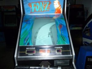 Cabinet for Fonz game