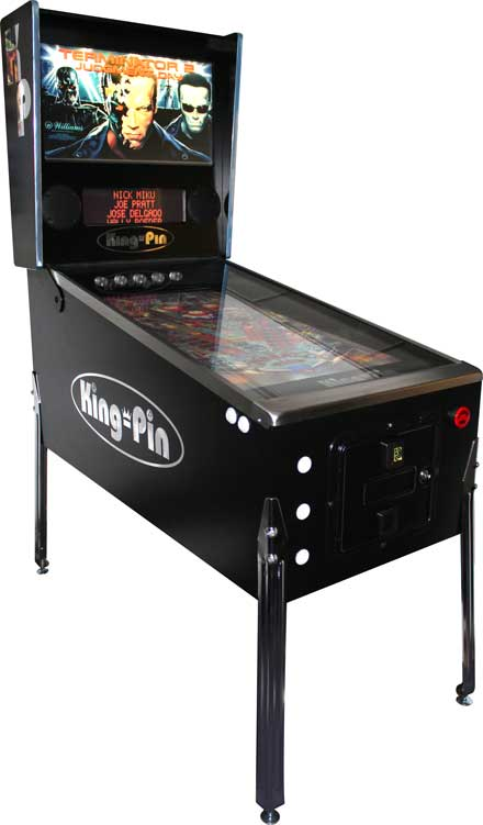 King-Pin Virtual Pinball Machine