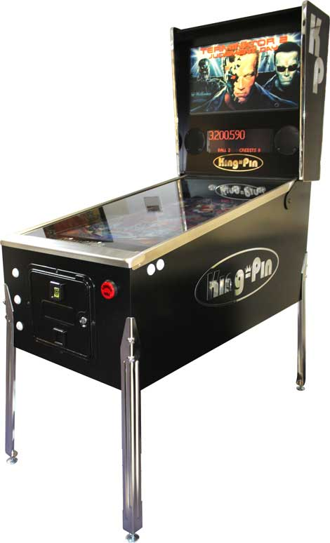 The King Pin Virtual Pinball Cabinet Bespoke Arcades