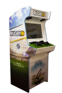 rugby 18 arcade cabinet