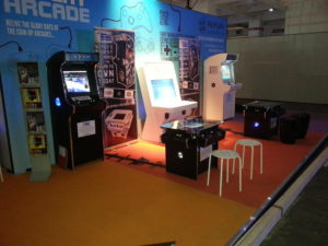event stand