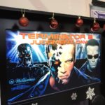 ideal home show christmas terminator pinball