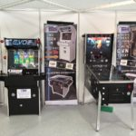 ideal home show christmas arcade machines and pinball