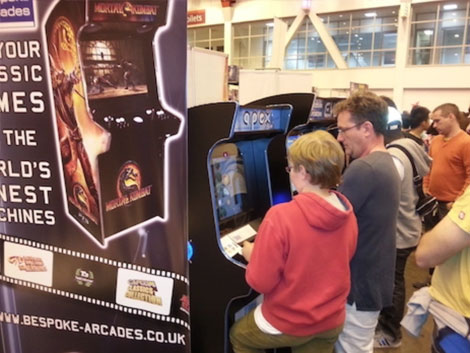 Apex Arcade Machine at an Expo