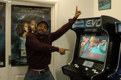 noel clarke with our evo