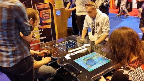 Synergy Tabletop at Gadget Show 2010 Expo