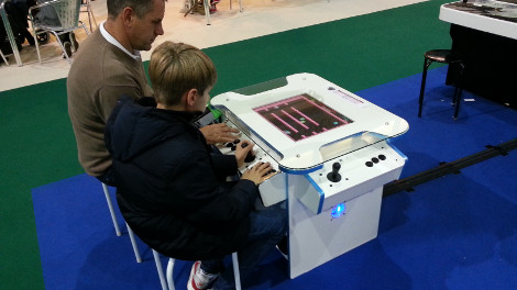 Synergy Tabletop at Gadget Show Live Expo