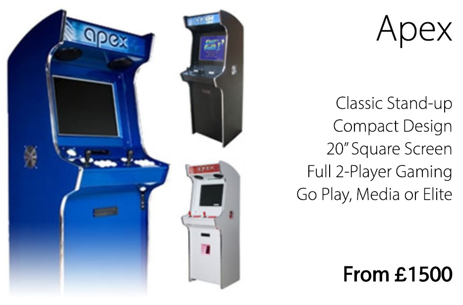 Arcade Machines | Tech Support & FREE Delivery | Bespoke Arcades