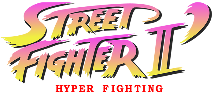 street fighter 2 hyper fighting title